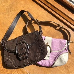 2 Authentic small COACH purse *2 for 1 deal*